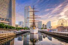 Yokohama, Japan Harbor Stock Photography