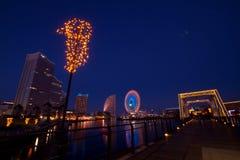 Yokohama Japan Night View Royalty Free Stock Image