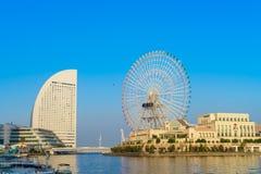 Yokohama,Japan - November 24,2015 : Ferris wheel at cosmo world Stock Photo