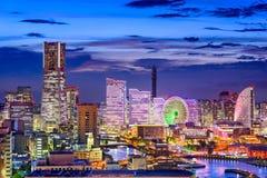 Yokohama Japan Skyline Stock Image