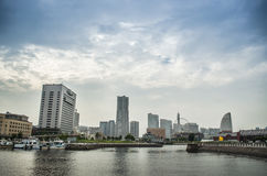 Yokohama landmark tower Royalty Free Stock Photography