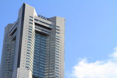 Yokohama landmark tower Royalty Free Stock Photos