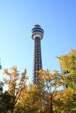 Yokohama marine tower Stock Photography