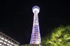 Yokohama-Marineturm in Kanagawa, Japan stockbilder