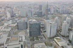 Yokohama miasta spojrzenie od wysokiego budynku Obrazy Royalty Free