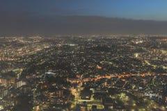 Yokohama miasta spojrzenie od wysokiego budynku Fotografia Royalty Free