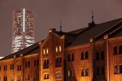 Yokohama miasta widok Japonia Zdjęcia Stock