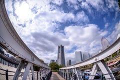 Yokohama Minato Mirai 21 Zdjęcia Stock