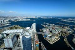 Yokohama Minato Mirai 21 Obrazy Royalty Free