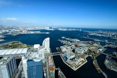 Yokohama Minato Mirai 21 Obraz Royalty Free