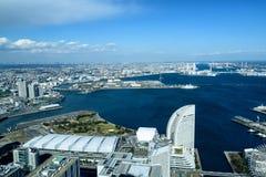 Yokohama Minato Mirai 21 Zdjęcie Stock