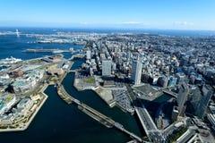 Yokohama Minato Mirai 21 foto de archivo libre de regalías