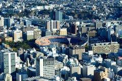 Yokohama Minato Mirai 21 Stock Afbeelding
