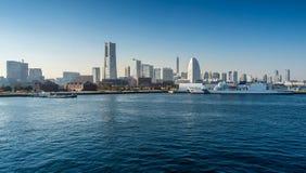 Yokohama Minato Mirai 21 Area in Yokohama, Japan Royalty Free Stock Photos
