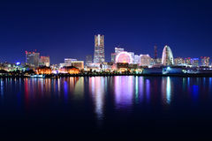 Yokohama Minato Mirai Stock Images