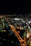Yokohama Minato Mirai Night view Royalty Free Stock Photos