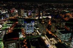 Yokohama Minato Mirai Night view Stock Image