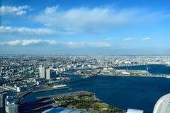 Yokohama Minato Mirai 21. View of Minato Mirai 21 in Yokohama, Japan in winter Royalty Free Stock Images