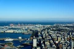 Yokohama Minato Mirai 21. View of Minato Mirai 21 in Yokohama, Japan in winter Stock Images