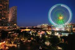 Yokohama Minatomirai 21 (night scene) Stock Photo