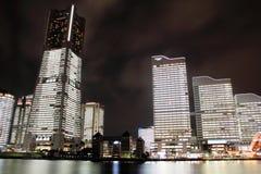 Yokohama Minatomirai 21 (night scene) Stock Images