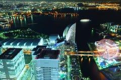 Yokohama night Stock Photo