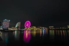 Yokohama Nightshoot Arkivbild