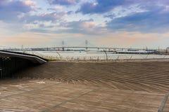 Yokohama osanbashi pier, Japan Stock Image