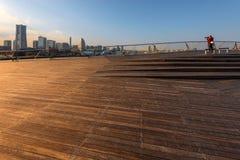 Yokohama osanbashi pier, Japan Royalty Free Stock Photos