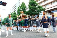 Yokohama: Penombra scintillante Fotografia Stock Libera da Diritti