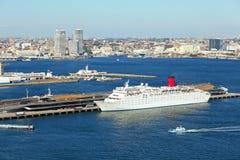 Yokohama port Royaltyfria Bilder