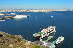 Yokohama port Stock Photography
