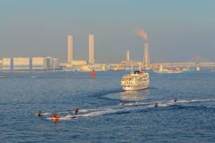 Yokohama Port in Japan Royalty Free Stock Photography