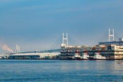 Yokohama Port in Japan Royalty Free Stock Images