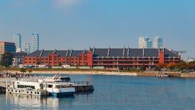Yokohama port w Japonia Obrazy Stock