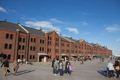 YOKOHAMA RED BRICK WAREHOUSE Stock Images