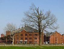 Yokohama Red Brick Warehouse Royalty Free Stock Photos