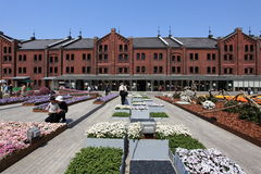 Yokohama Red Brick Warehouse.Japan. Stock Photo