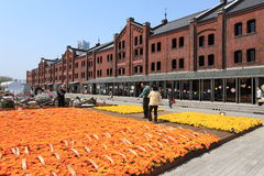 Yokohama Red Brick Warehouse.Japan. Royalty Free Stock Photos