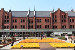 Yokohama Red Brick Warehouse.Japan. Royalty Free Stock Image