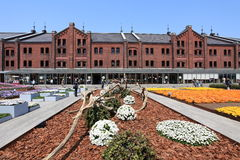 Yokohama Red Brick Warehouse.Japan. Royalty Free Stock Photography
