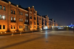 Yokohama Red Brick Warehouse Stock Photos