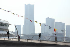 Yokohama skyline Royalty Free Stock Photos