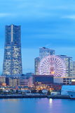 Yokohama skyline royalty free stock photos