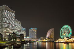 Yokohama skyline royalty free stock photography