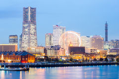 Yokohama Skyline Royalty Free Stock Photo