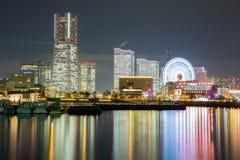 Yokohama Skyline building Royalty Free Stock Photo