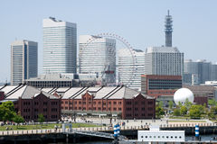 Yokohama Skyline, Japan Royalty Free Stock Image