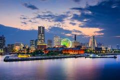 Yokohama Skyline Stock Image
