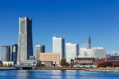 Yokohama skyline in Japan Royalty Free Stock Photography
